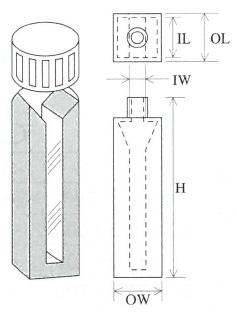 特殊マイクロセル(2面透明)