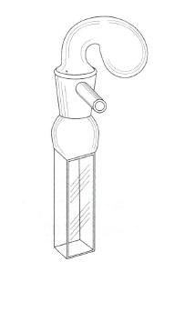 特殊ツンベル管付セル(全面透明)