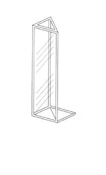 三角セル(全面透明)